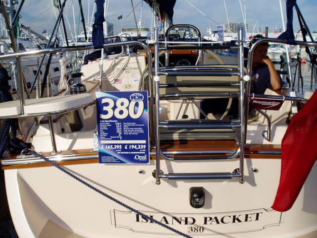 Southampton Boat Show Island Packet 380
