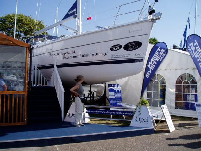 Southampton Boat Show Opal Marine