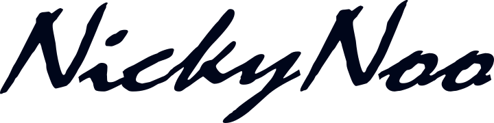 NickyNoo Logo Text