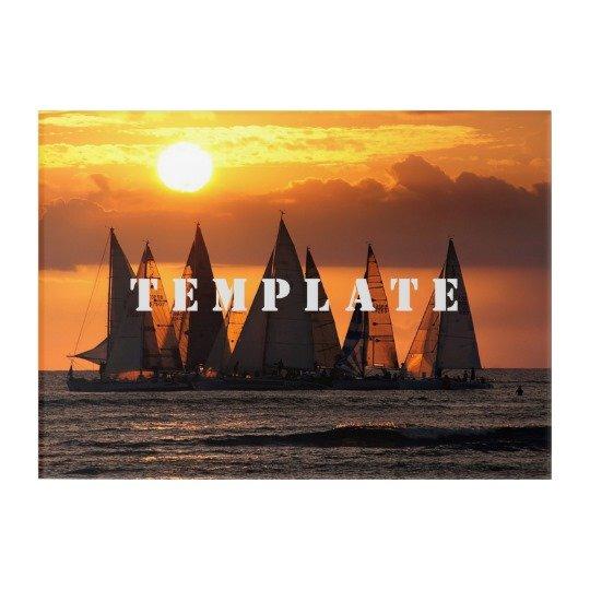 Template Acrylic Print