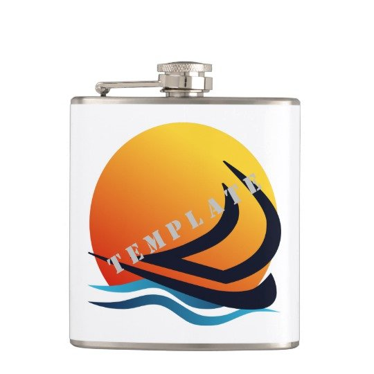 Template Drinkware Hip Flasks