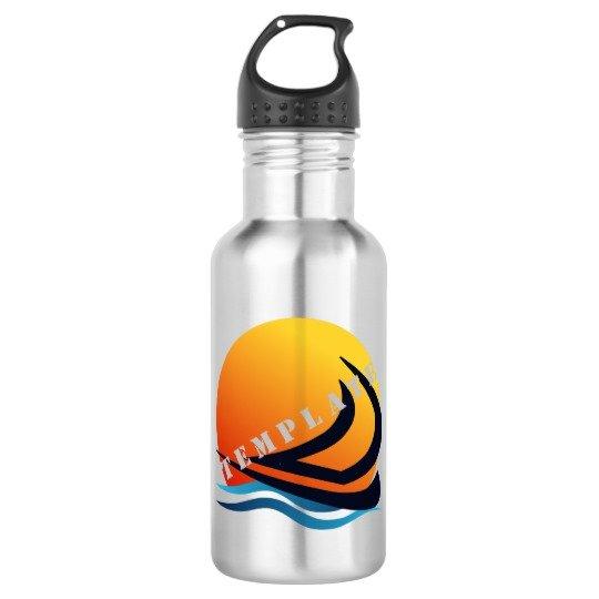 Template Drinkware Water Bottle